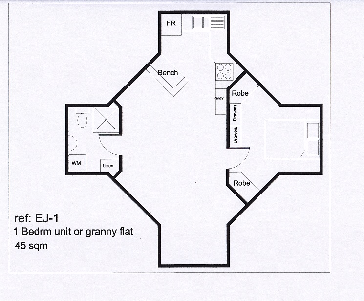 Useful yurts round houses kit homes relocatables for Granny unit house plans