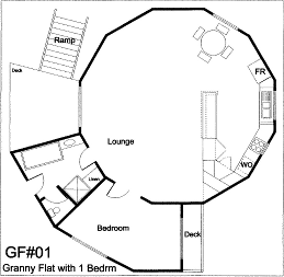 Floorplans on yurts